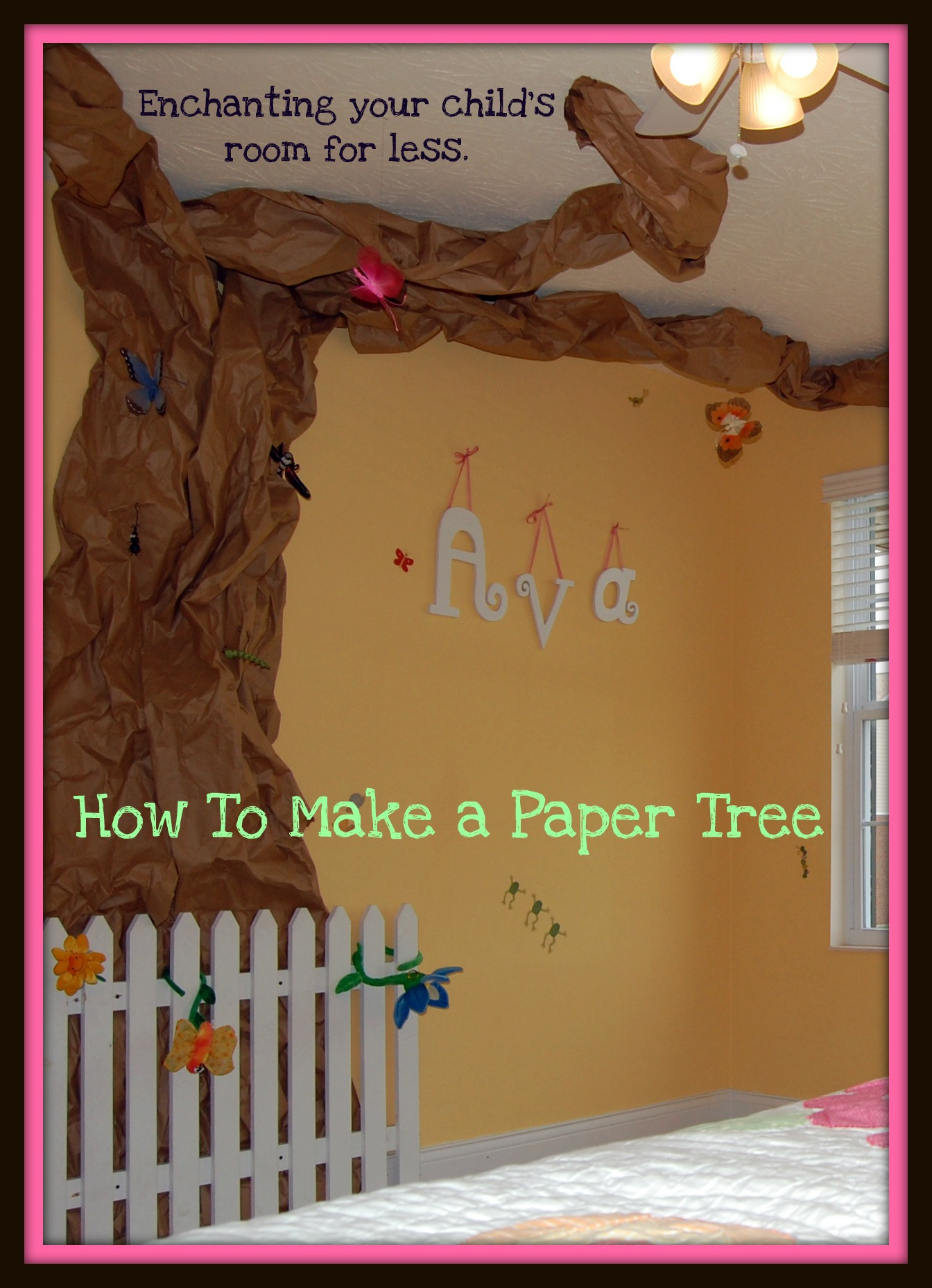 Classroom Giving Tree Ideas ~ Paper tree tutorial think magnet oopsey daisy