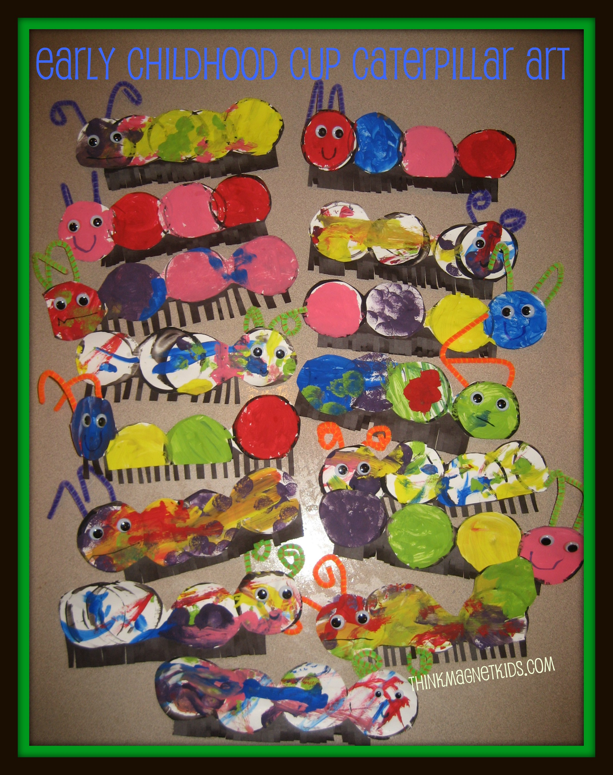 caterpillart Caterpillar Art for Early Childhood